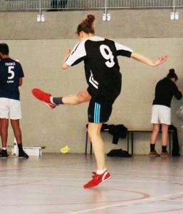Camille, du club d'Amiens, en pleine extension !