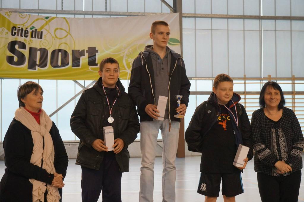 Podium Jeunes