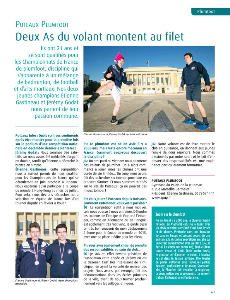 Puteaux Infos février 2017 - Mairie de Puteaux - Etienne & Jeremy